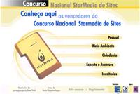 Imagem do site do Concurso Nacional de Sites Star Media e Rádio Eldorado